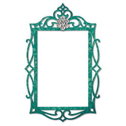 Sizzix  Thinlits Die - Fancy Rectangle Frame
