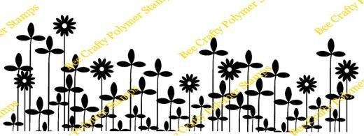 Bee Crafty Backdrop Border - Clover
