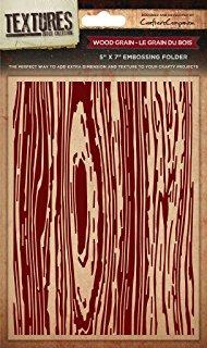 Crafters Companion Textures Folder - 5x7 - Wood Grain