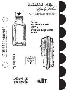 Studio 490 Stamps - Art Inspirations