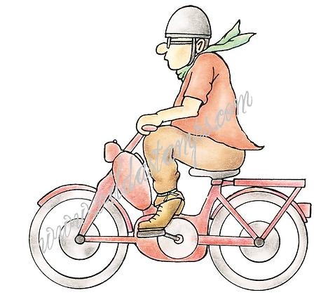Vilda - Man On Scooter