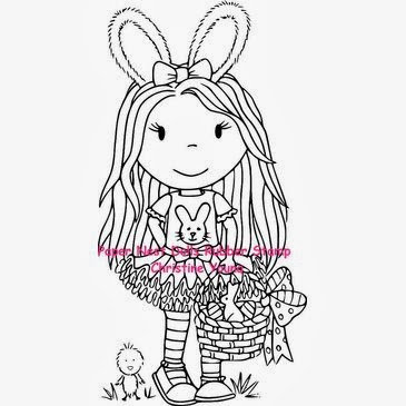 Paper Nest Dolls - Easter Bunny Ellie