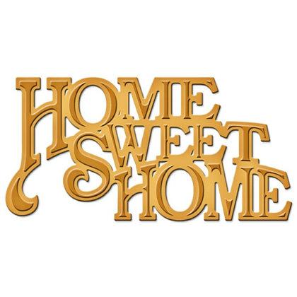 Spellbinders Die - Home Sweet Home