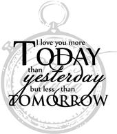 Vilda - I Love You More Today