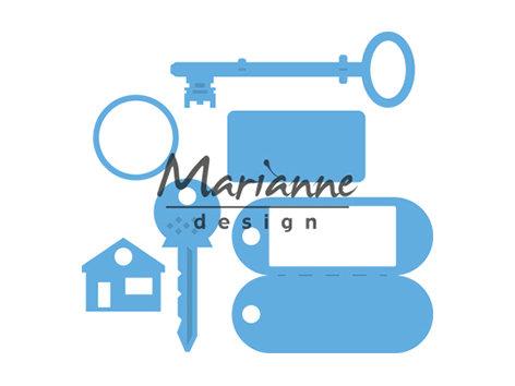Marianne Die - Key Rings