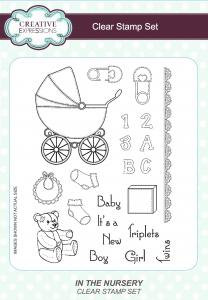Creative Expressions Clear Stamps - In The Nursery