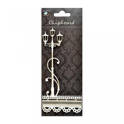 Little Birdie Chipboard  - Lamp Post