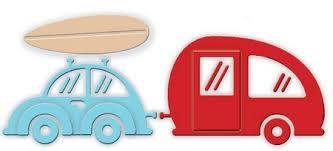 Impression Obsession Die Set - Car and Camper Van