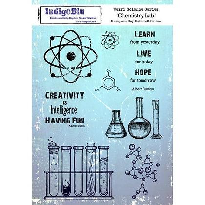 Indigo Blu Stamp Set - Chemistry Lab