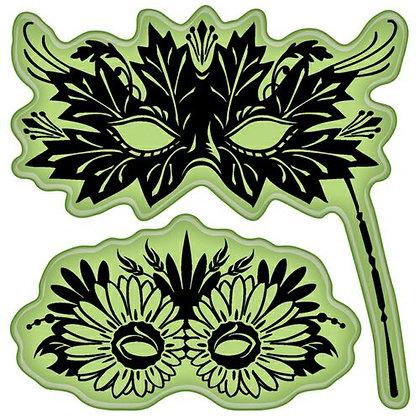 Inkadinkadoo Stamps - Venetian Masks