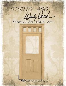 Studio 490 Embellish Your Art - Door with Window