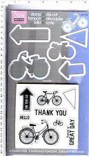 Sizzix / Hero Arts Stamp & Die Set - Bicycle