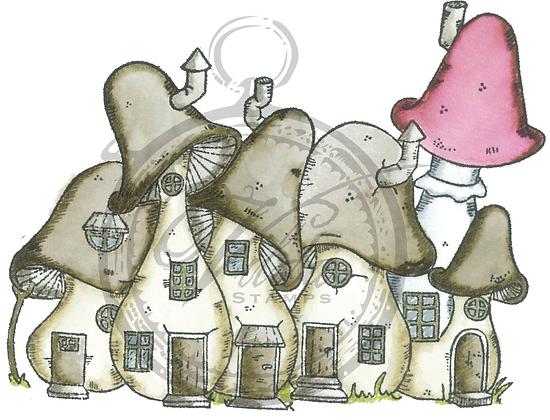 Vilda - Mushroom Sponge Houses