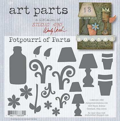 Studio 490 Art Parts Kit - Potpourri of Parts