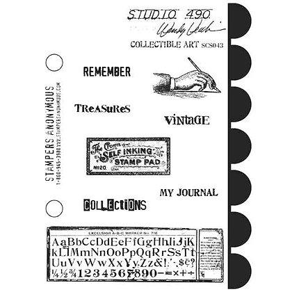 Studio 490 Stamps - Collectible Art