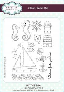 Creative Expressions Clear Stamp Set - By The Sea