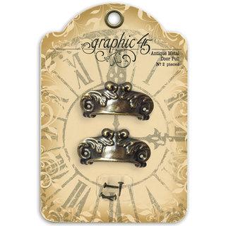 Graphic 45 Staples Metal Embellishments - Door Pulls