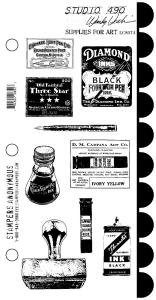 Studio 490 Stamps - Supplies For Art