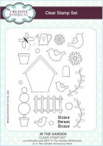Creative Expressions Clear Stamp Set - In The Garden