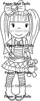 Paper Nest Dolls - Fashion Doll Punk