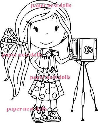 Paper Nest Dolls - Shutterbug Avery