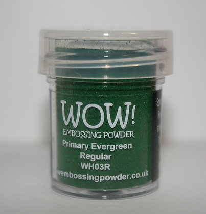 WOW! Embossing Powder - Primary Evergreen
