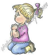 Vilda - Little Girl Saying Prayers