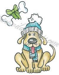 Vilda - Winter Dog