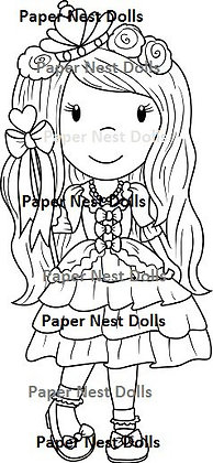 Paper Nest Dolls - Fashion Doll Princess