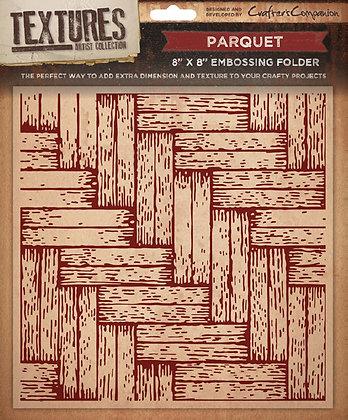Crafters Companion Textures Folder - 8x8 - Parquet