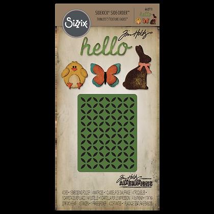 Sizzix Thinlits Tim Holtz Die & Embossing Folder Set - Springtime