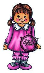 Vilda Stamps - Girl