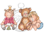 Vilda - Children and Teddy Bear