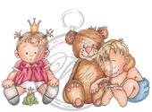Vilda - Children and Teddy Bear