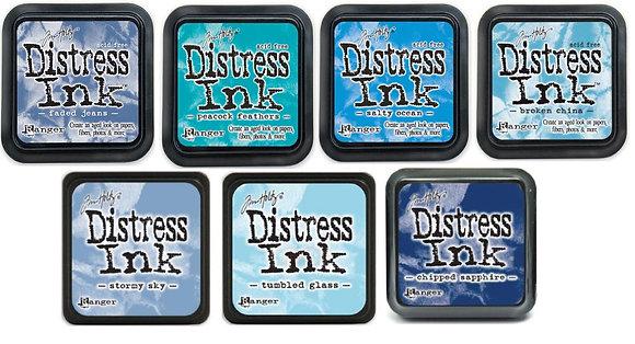 Tim Holtz Distress Ink - Blues