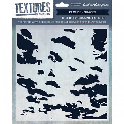 Crafters Companion Textures Folder - 8x8 - Clouds