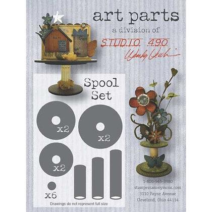 Studio 490 Art Parts - Spool Set