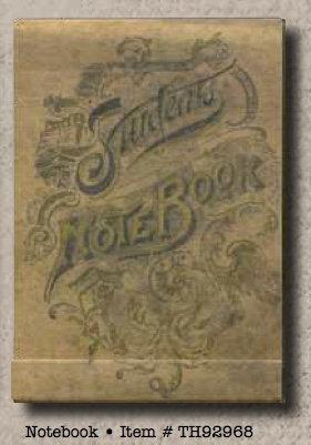 Tim Holtz Matchbook Note Pad - Notebook