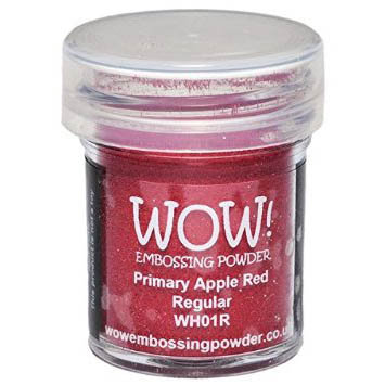 WOW! Embossing Powder - Primary Apple Red