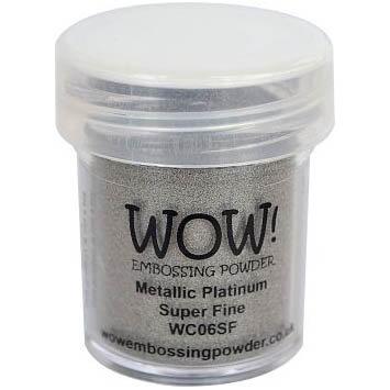 WOW! Embossing Powder - Metallic Platinum