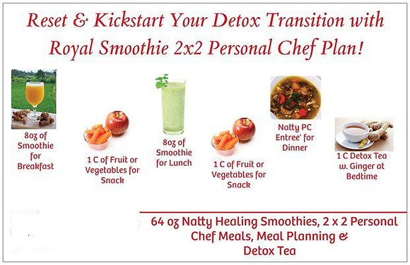 Fast Track 2x2 Juice & Meal Detox Package
