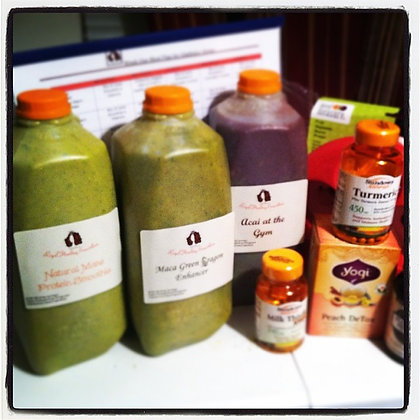 Gladiator 4 day Straight Juice Detox