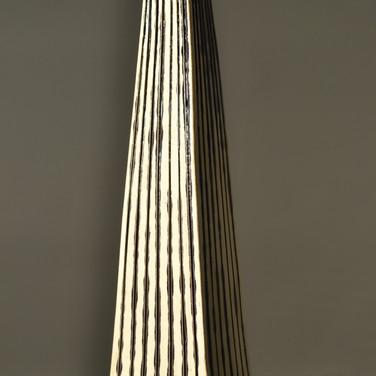 Triangular Ridged Sculpture