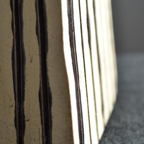 Detail Ridged Sculpture