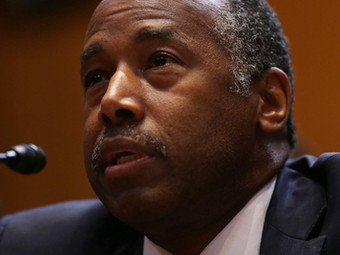 """Newsweek: Ben Carson Protesters Say """"He's Not Here to Help"""" at Chicago Housing Meeting"""