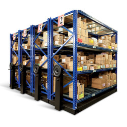 High Density Movable Parts Storage