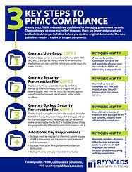 PHMC Guidelines Infographic