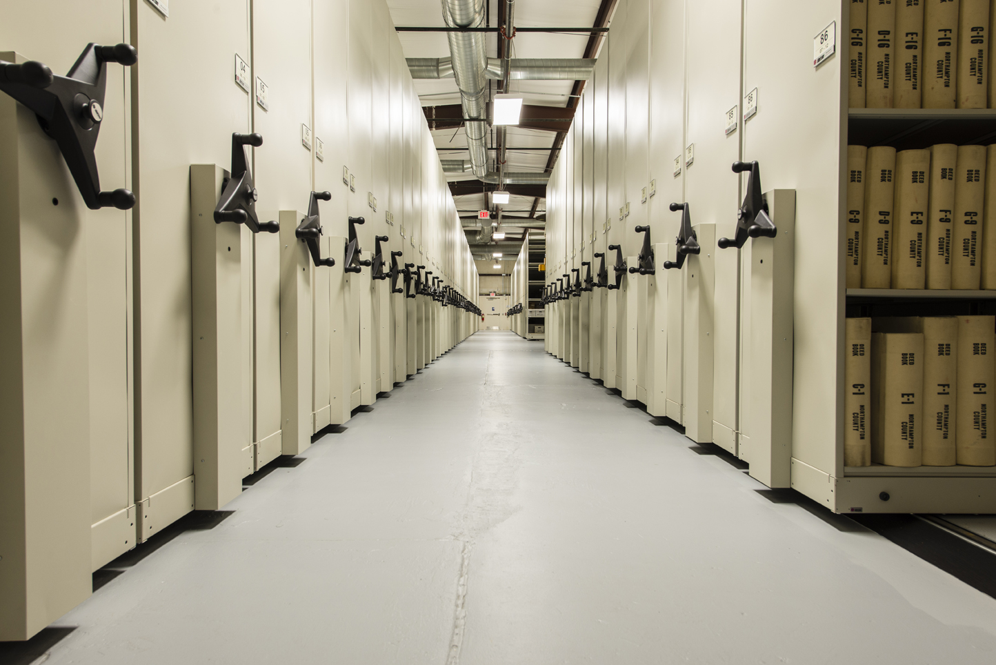 High Density Archives Storage