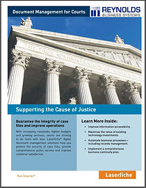 Laserfiche for Courts Brochure