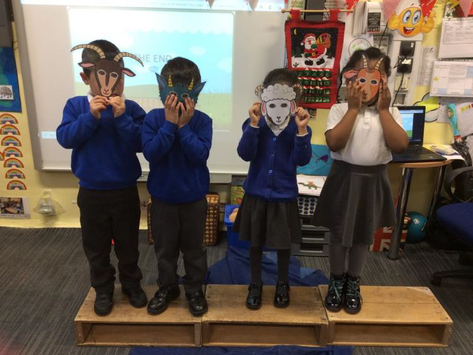 Autumn 2 - Will You Read Me a Story? The Three Billy Goats Gruff